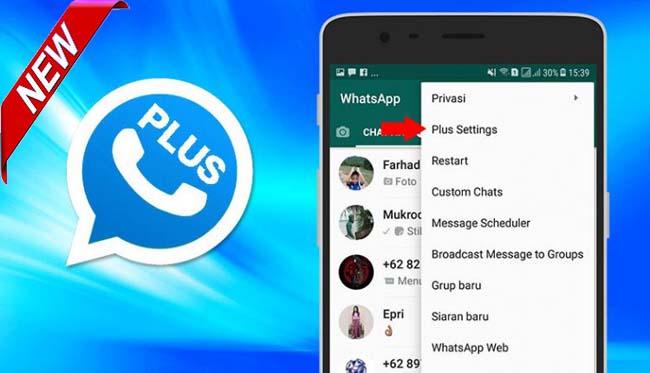 WhatsApp Plus Apk (WA Plus) Mod Download Versi Terbaru 2021