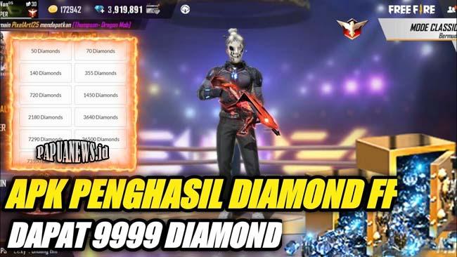 Diamond Gratis FF 99,999 Apk Asli Update Terbaru 2021 (Work)