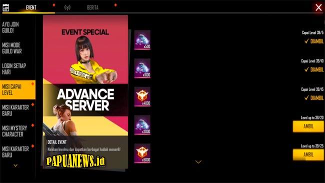 FF Advance Server Apk Terbaru 2021 [Download + Cara Daftar]