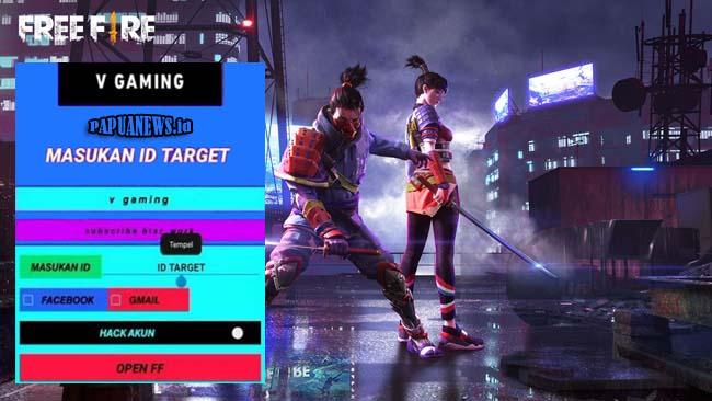 V Gaming Apk Hack Akun FF Via Salin ID Versi Terbaru 2021