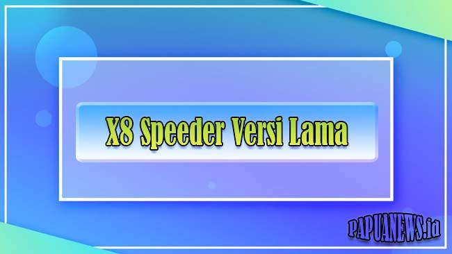X8 Speeder Versi Lama APK Higgs Domino Tanpa Iklan & Anti Banned