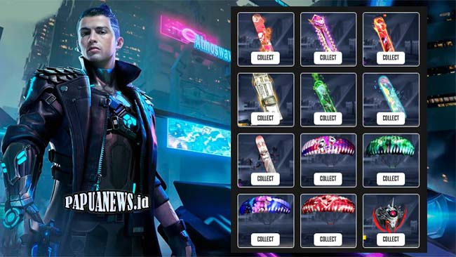Free Fire Space Klaim Skin Bundle, Senjata & Diamond FF Gratis 2021