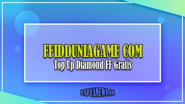 Ffidduniagame com - Top Up Diamond FF Gratis 0 Rupiah Terbaru 2021