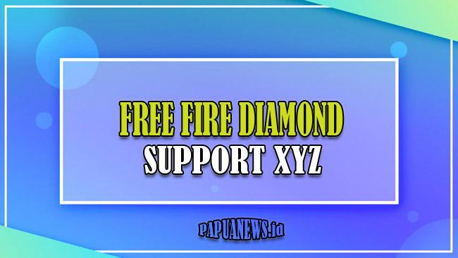 Free Fire XYZ Diamond Support Gratis Asli [ffid.xyz] Terbaru 2021