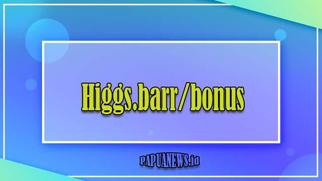 Higgs.barr/bonus - Sedekah Chip Higgs Domino Gratis 1B Terbaru 2021