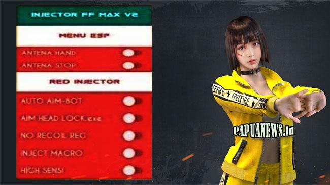 Injector FF Max V2 Config FF Auto Headshot Terbaru 2021 [Anti Banned]