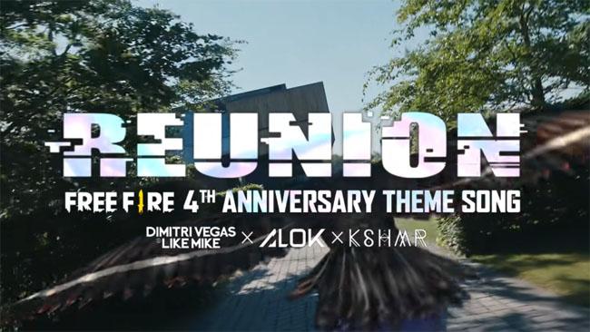 Lagu Tema Free Fire Hut Ke 4 Anniversary - Download Disini [Gratis]