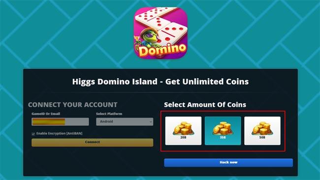 Vhack.mi/hd Higgs Domino Koin Gratis 50B Terbaru 2021 [Anti Banned]
