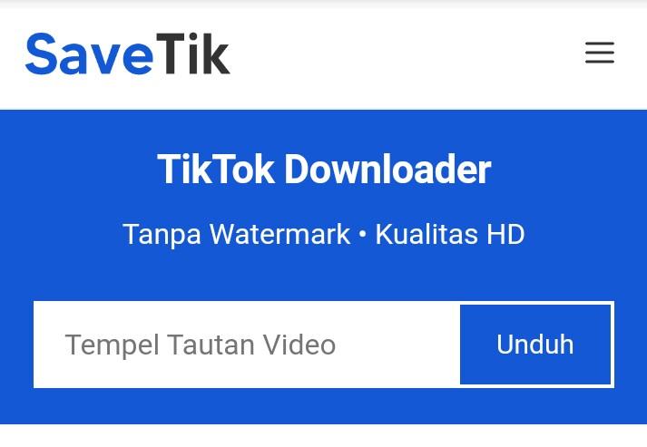 save tik video downloader tiktok