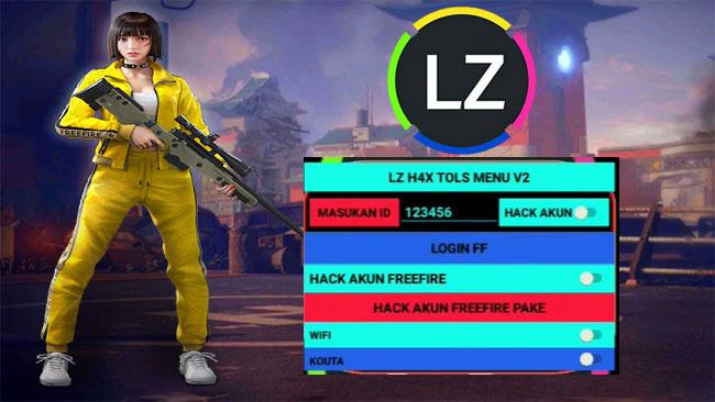 LZ H4x Menu V2 APK Mod Hack Akun FF Sultan Versi Terbaru 2021