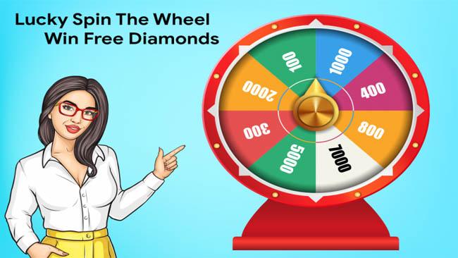 Spin Diamond FF Gratis Asli Terbaru 2021 Masih Aktif Tanpa Verifikasi