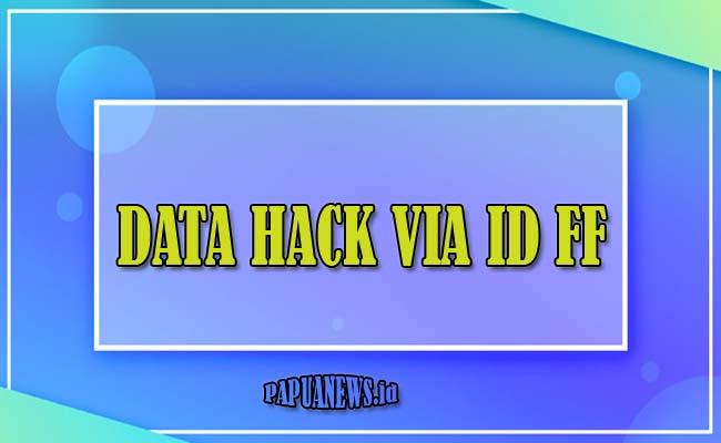 download Data Hack Via Id FF